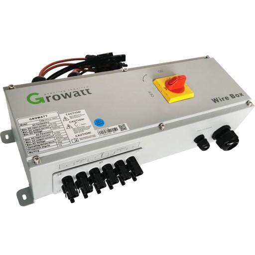 Growatt WireBoX zabezpieczenia DC oraz AC 3-15kW